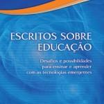 Capa livro Escritos Educação Tecnologia - Paulus